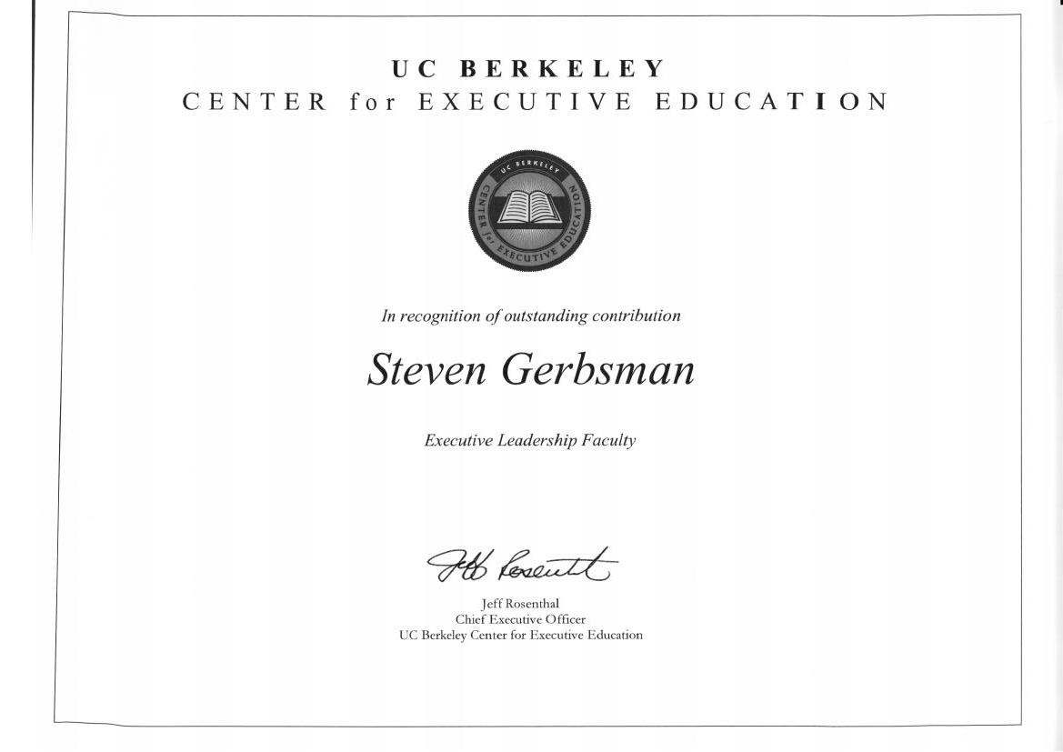 Uc Berkeley Center For Executive Education Blog Of Intellectual